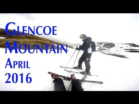 Glencoe Mountain - Spring Skiing in 4K - GoPro Hero 4 Black - (Music Video - Spag Heddy - Bunga)