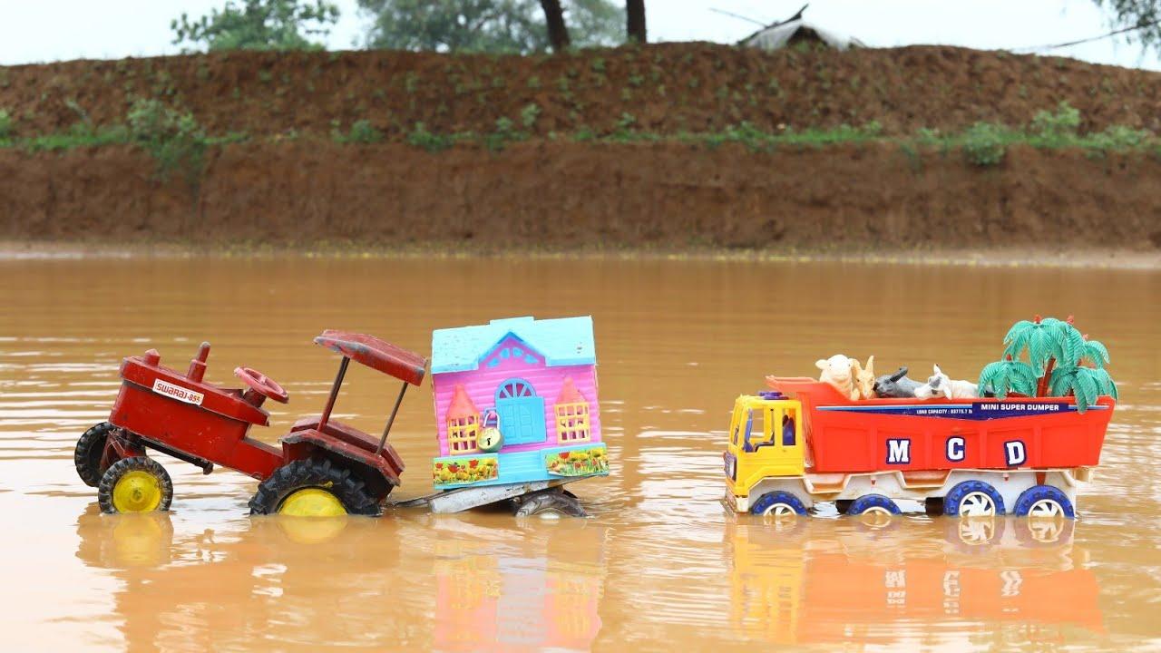 Crane Loading Home Swaraj Tractor | Tata Truck | Cs Toy