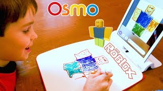 Drawing Roblox Figures with Osmo Masterpiece | Fun How To Draw video for Kids