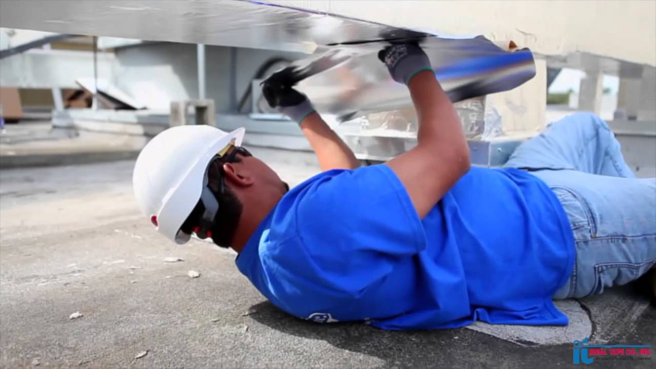 IdealSeal 777 Duct and Pipe Jacketing - How to Protect Outdoor Duct and  Piping
