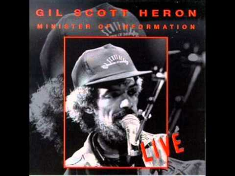 Gil Scott-Heron - The Bottle (Live)