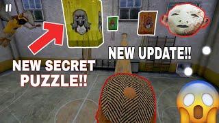 New Secret Puzzle in Evil Nun New Update Version 1.2.0