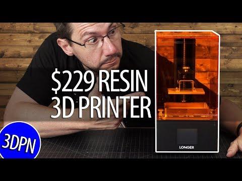 Longer3D Orange 10 Resin 3D Printer Review - $229 CHEAP RESIN PRINTER?