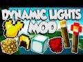 ??MODS #81??   1.11.2   DYNAMIC LIGHTS MOD   KARMALAND 3 MODS   ¡ILUMINACIÓN TOTAL!