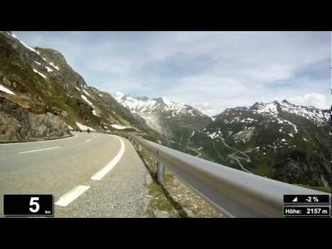 Indoor Cycling Training: Grimselpass / Suisse (now in full length: https://youtu.be/YYYrYn99CRg)