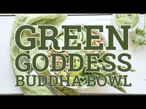 Green Goddess Buddha Bowl, Green Goddess Buddha Bowl