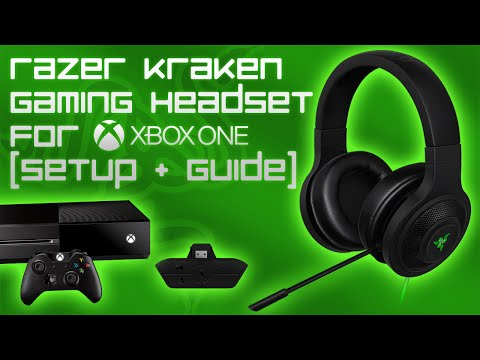 Razer Kraken Gaming Headset For Xbox One [Setup & Guide]