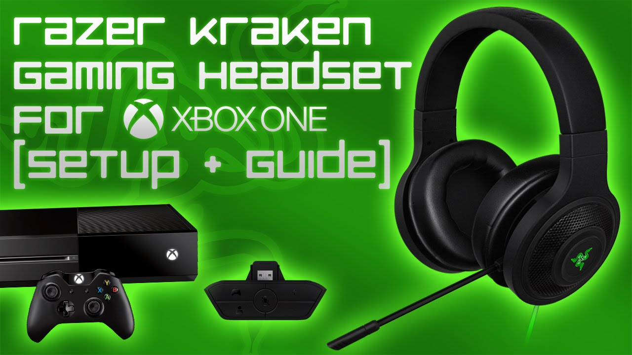 Razer Kraken Gaming Headset For Xbox One Setup Guide Youtube Wiring Diagram Surround Sound