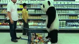 "Tv ad for Panda cheese: ""Never say no to Panda !"""