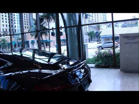 2013 Black Aston Martin Vanquish @ Palm Beach Motor Cars