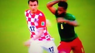 【何でもアリのカメルーン】エルボーで一発退場!味方に頭突き!ブラジルW杯 日本 ギリシャ コロンビア