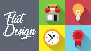 Créer une icône en Flat Design - Illustrator Tutoriel