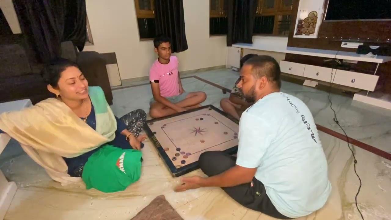 कॅरम खेळताना झाली मज्या! | बायकोला विडिओ केलेला कळलंच नाही 😅😅😅😅 | Dhananjay Powar DP