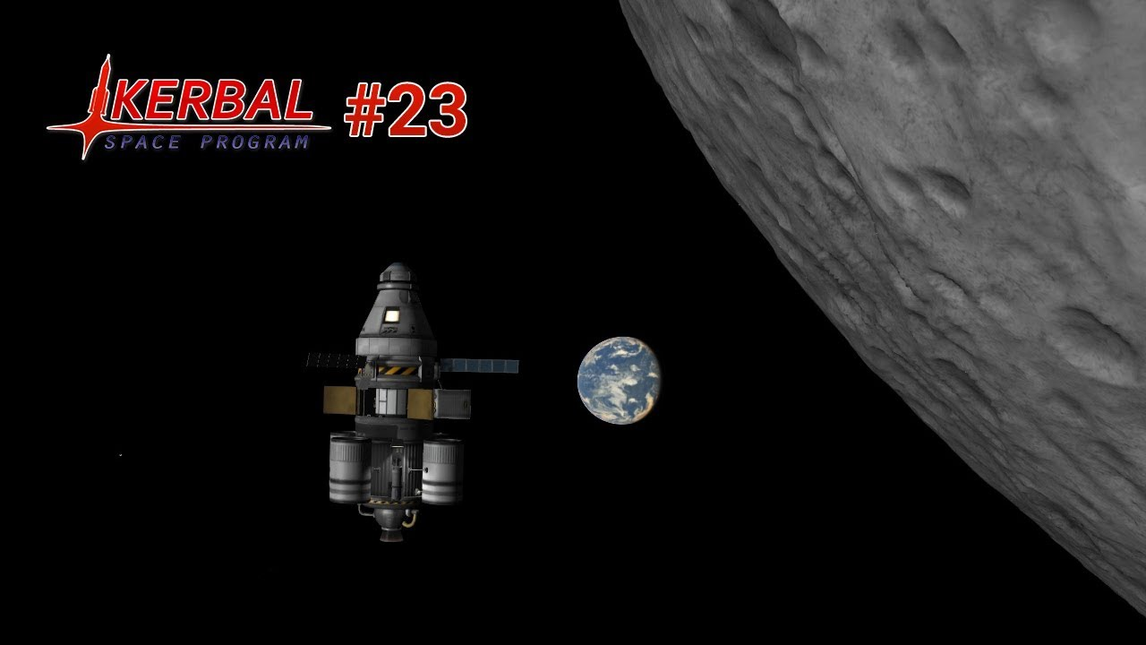 🚀 Die zweite Mond-Mission - Kerbal Space Program #23