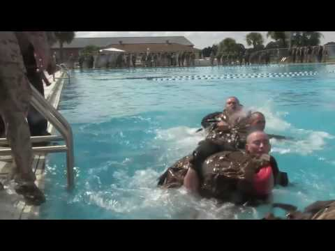 Marine Corps Recruit Swim Qualification - Parris Island