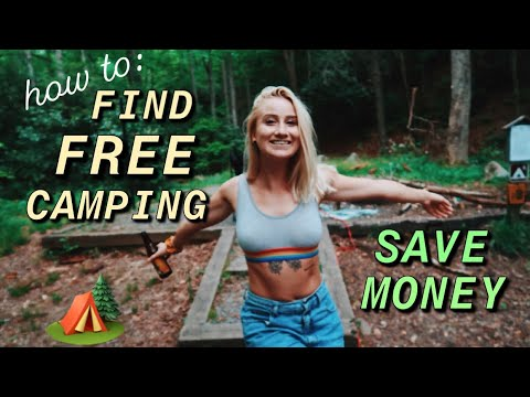 How To Camp FOR FREE & Save Money 💰