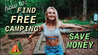 How to Camp FΟR FREE & save money 💰