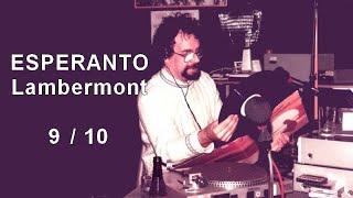 Esperanto Lambermont 9