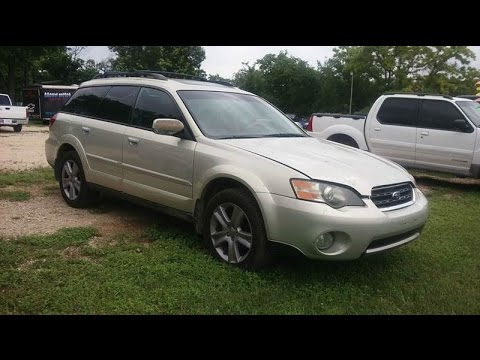 2005 subaru outback 3. 0 r l. L. Bean edition wagon in champagne.