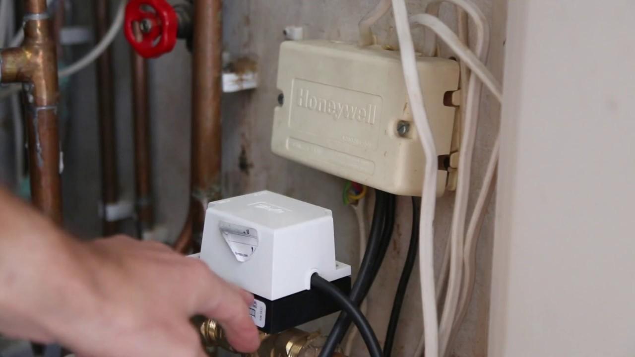 danfoss 3 port valve wiring diagram yamaha electric guitar replacing faulty hsa3 actuator hot water but no central heating