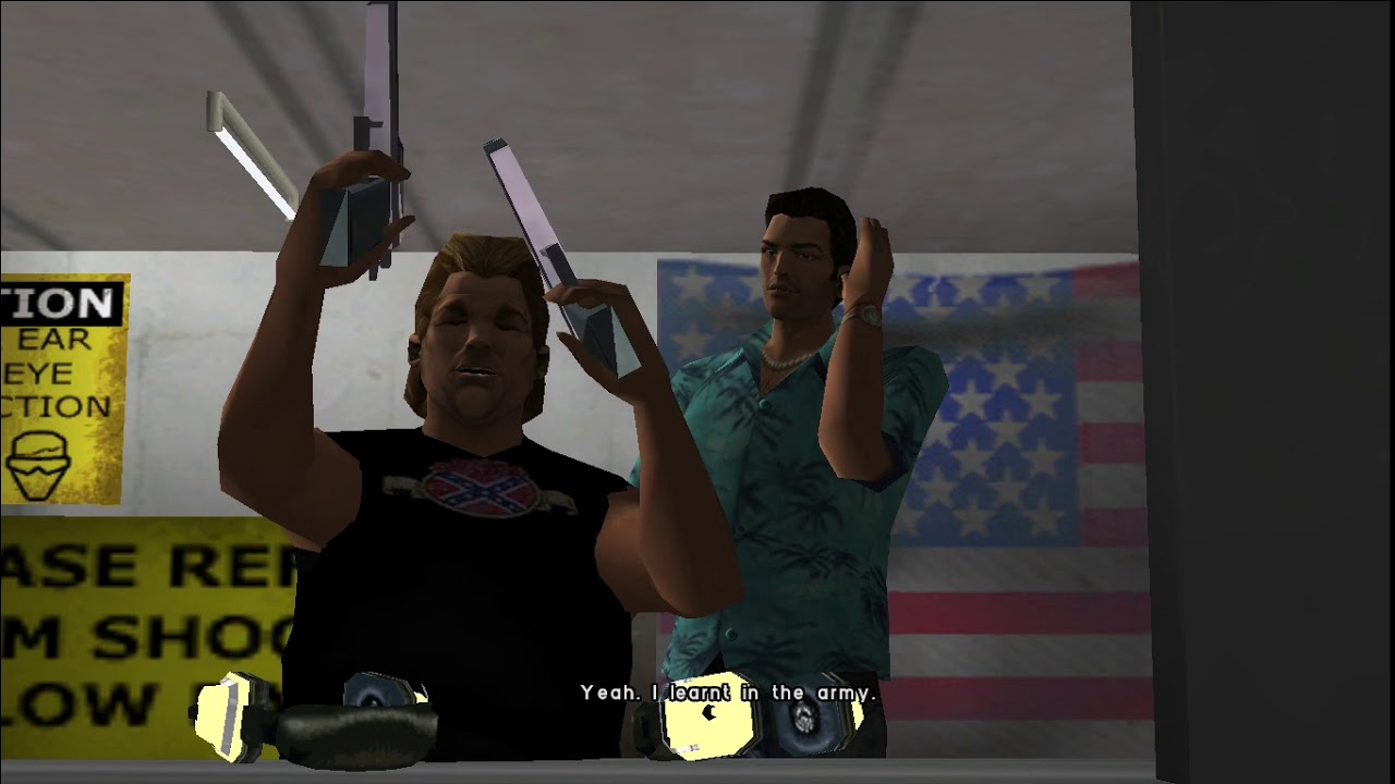 Gta Vice City My New Desert Eagle Model Test