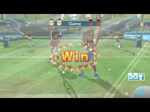 Wii Sports Club Online Tennis