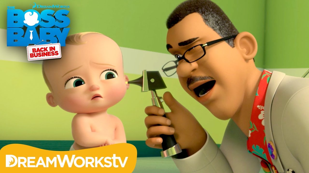 Boss Baby Goes To The Doctor Boss Baby Back In Business Youtube