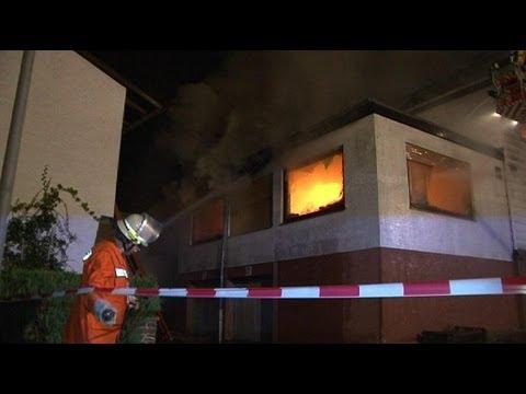 Vier Tote nach Großbrand in Neukirchen 24.09.2012