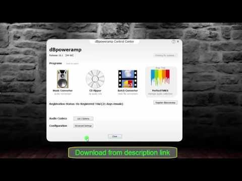 dBpowerAMP Music Converter  16.1