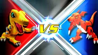 Agumon vs Guilmon [Rumble Arena 2]