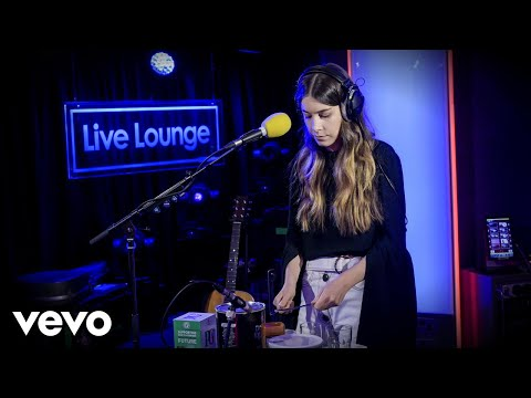 HAIM - Bad Liar (Selena Gomez cover) in the Live Lounge