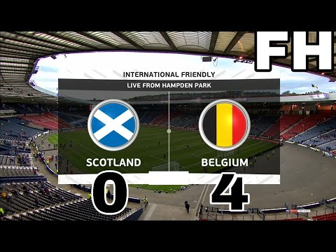 Eden Hazard goal and 2 assists Scotland vs Belgium 0-4 | HIGHLIGHTS