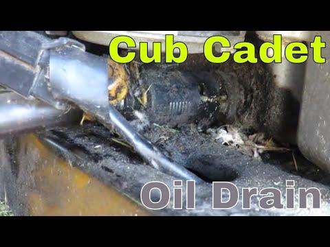 Cub Cadet Cc30h Oil Drain Plug