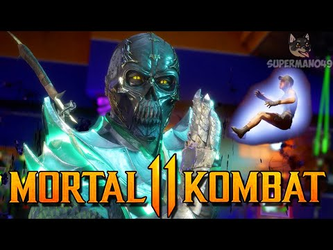 "I GOT THE GHOST BALL BRUTALITY! - Mortal Kombat 11: ""Noob Saibot"" Gameplay"