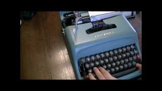 基本的なタイプライターの使い方