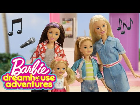 Barbie Dreamhouse Adventures Theme Song Music Video: Real Doll Remix! | Barbie