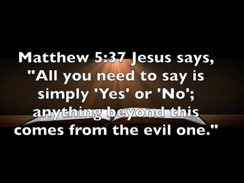 Matthew 5:37 Fulfill Your Commitments - YouTube