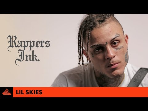Lil Skies Explains His Tattoos | Rapper's Ink.