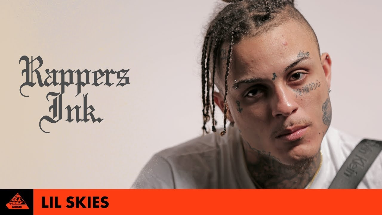 fab3c9a79 Lil Skies Explains His Tattoos | Rapper's Ink. - YouTube