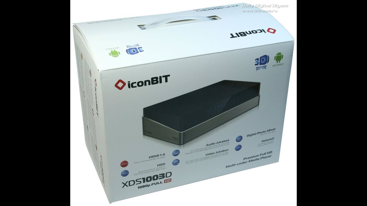 iconBIT STB330DVBT2 Media Player Treiber Windows XP