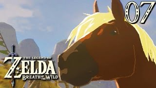 Zelda Breath of the Wild #07 : EPONA DÉBARQUE !