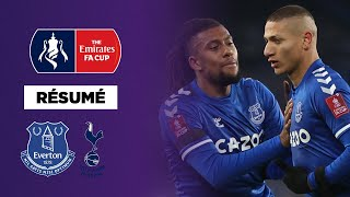 Résumé FA Cup : 9 buts, Everton élimine Tottenham dans un match fou !
