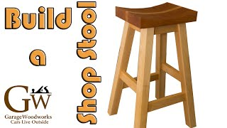 Make a Shop Stool (Part 2 of 2)