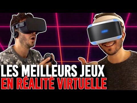 LES 10 MEILLEURS JEUX VR RÉALITE VIRTUELLE (PlayStation VR, Oculus Rift, HTC Vive)