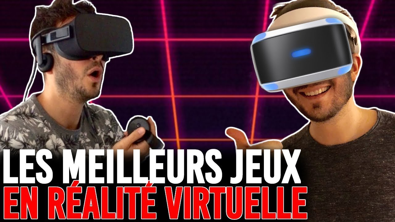 les 10 meilleurs jeux vr r alite virtuelle playstation vr oculus rift htc vive youtube. Black Bedroom Furniture Sets. Home Design Ideas