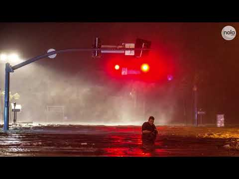 Hurricane Nate hammers Gulf Coast, flooding Biloxi, Mobile