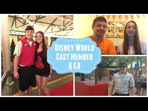 Disney Cast Member Q&A and More About our Channel!