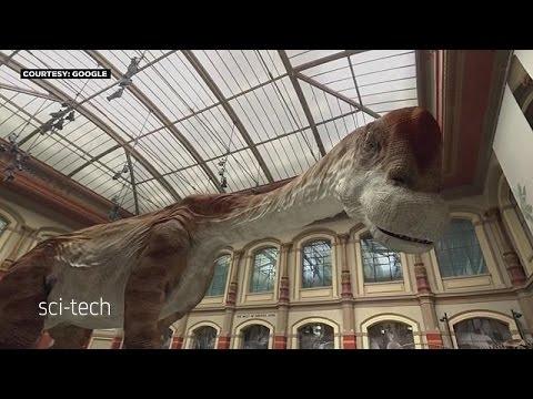 3D im Museum: Der Saurier lebt!