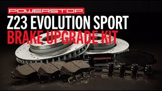 homepage tile video photo for Z23 Evolution Sport Upgrade Brake Kit | PowerStop