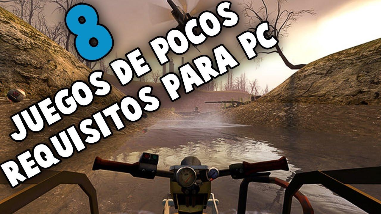 Top 8 Juegos Pocos Requisito #2 [MEGA]